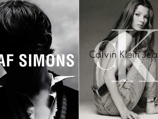 Was von Raf Simons für Calvin Klein zu erwarten ist