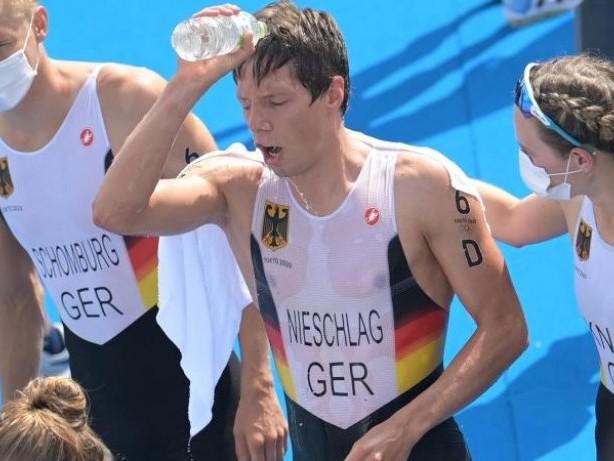 Olympia: Triathlon-Mixed feiert guten Tokio-Abschluss