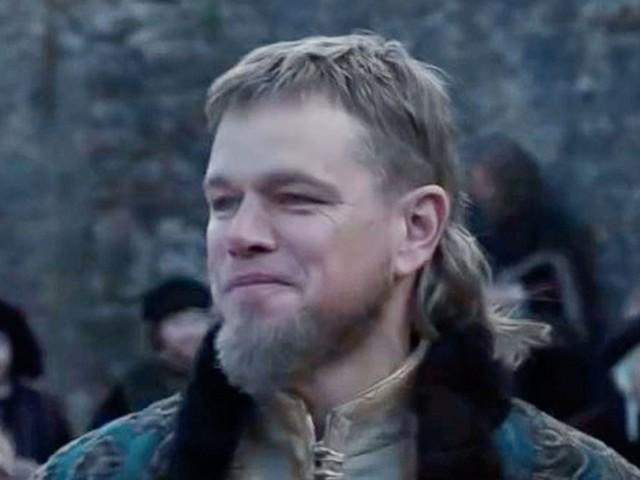 """""""The Last Duel"""": Matt Damons Vokuhila sorgt für Lacher: """"Star des Films ist seine Frisur"""""""