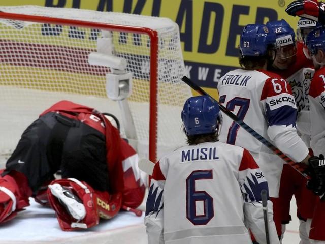 Eishockey-WM: Österreich unterliegt Tschechien 0:8