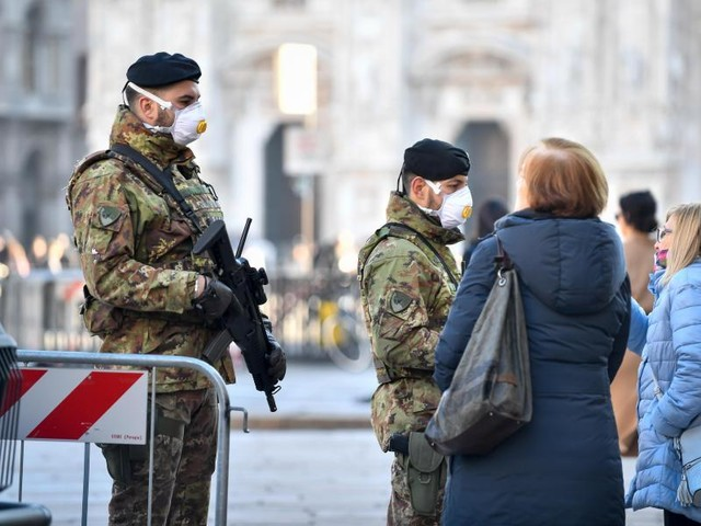 Epidemie weitet sich aus: Immer mehr Sperrzonen und immer mehr Tote in Italien