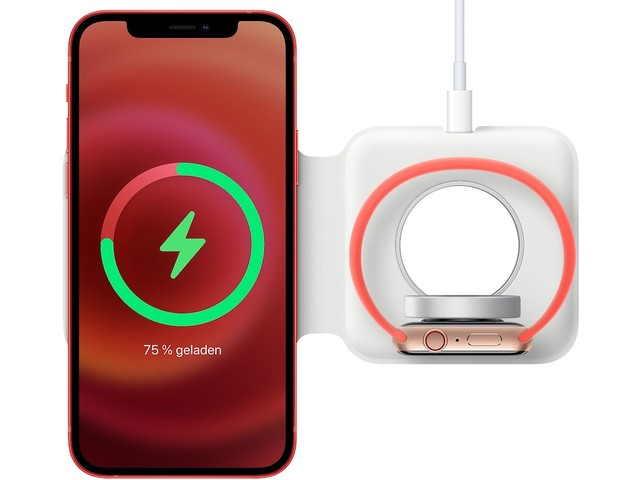 MagSafe Duo Ladegerät funktioniert mit iPhone 13 Pro, trotz Passform-Problemen