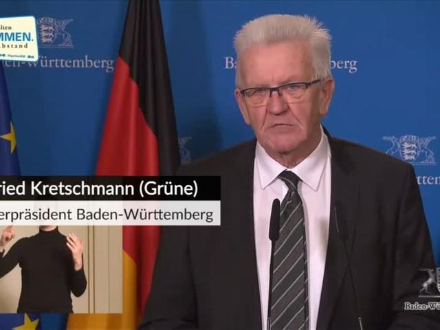 Video: Kretschmann will schrittweise Schul- und Kitaöffnungen ab 1. Februar