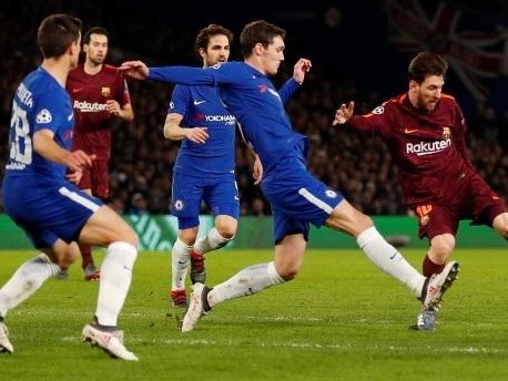 1:1 beim FC Chelsea: Barcelona schafft Remis in London