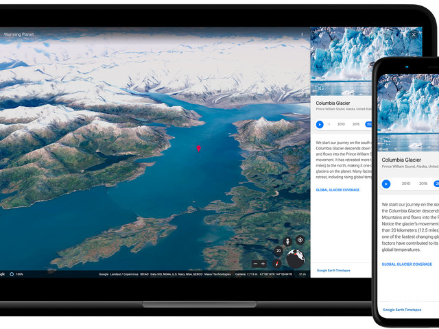 Google Earth: Neue Funktion schickt Sie auf Zeitreise