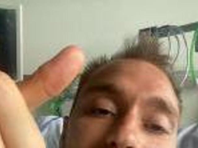 Eriksen bekommt Defibrillator