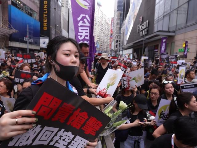 Proteste gegen Pekingtreue Führung gehen weiter