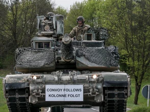 Verkehrschaos durch US-Militärbewegungen in D