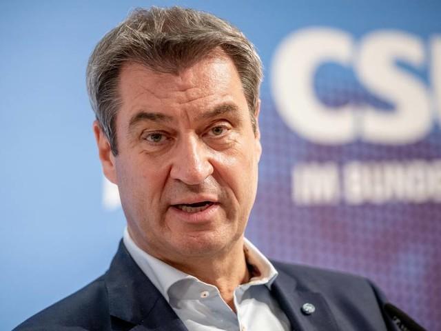 """CSU-Chef gratuliert Scholz: """"Die besten Chancen Kanzler zu werden, hat derzeit Olaf Scholz"""""""
