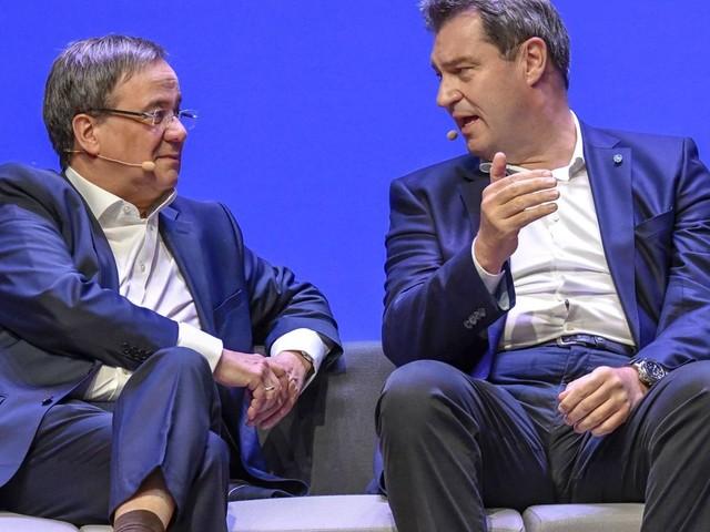 Bundestagswahl 2021: Armin Laschet und Markus Söder mahnen im Wahlkampf Geschlossenheit an