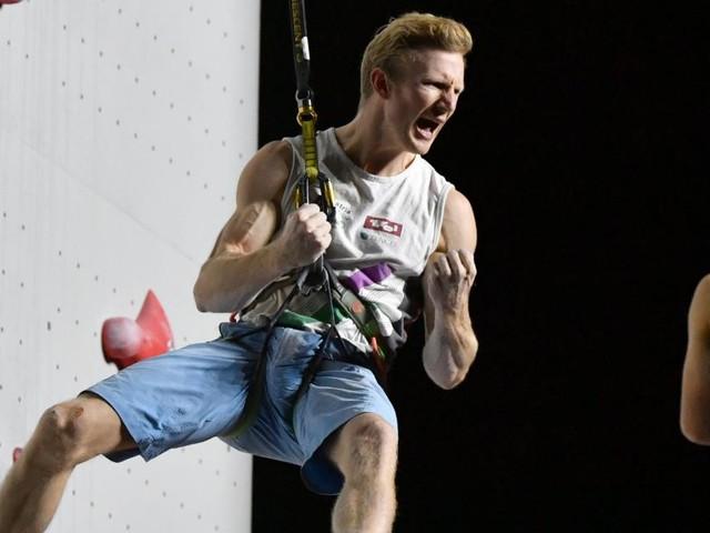 Klettern: Schubert krönt sich in Kombi zum Doppel-Weltmeister