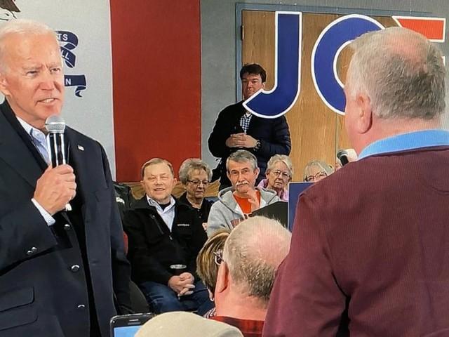 """Biden schimpft Wähler """"verdammten Lügner!"""""""