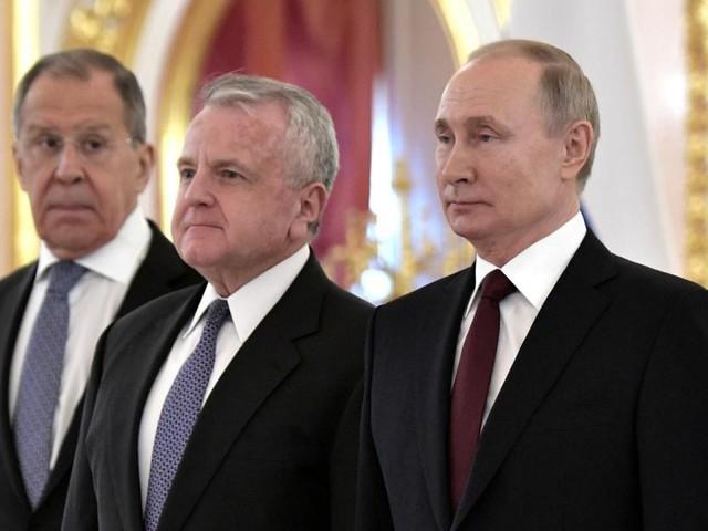 US-Botschafter verlässt vorübergehend Moskau