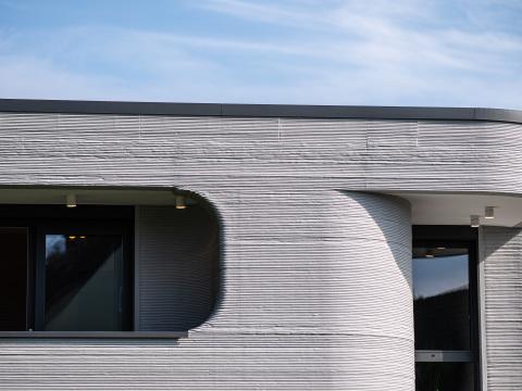 Deutschlands erstes Wohnhaus aus dem 3D-Drucker: So sieht es aus