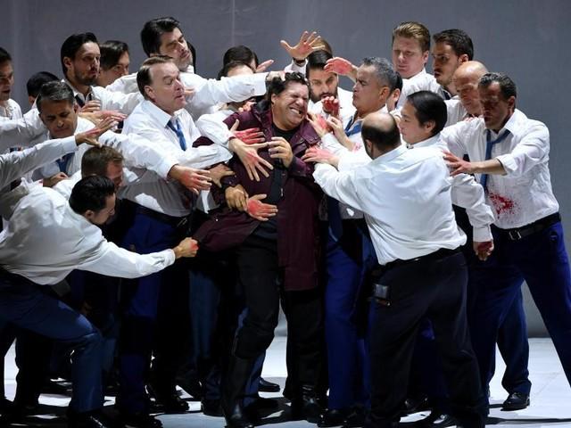 """Festspiele: Salzburger Purismus: Verdis düstere Oper """"Simon Boccanegra"""""""