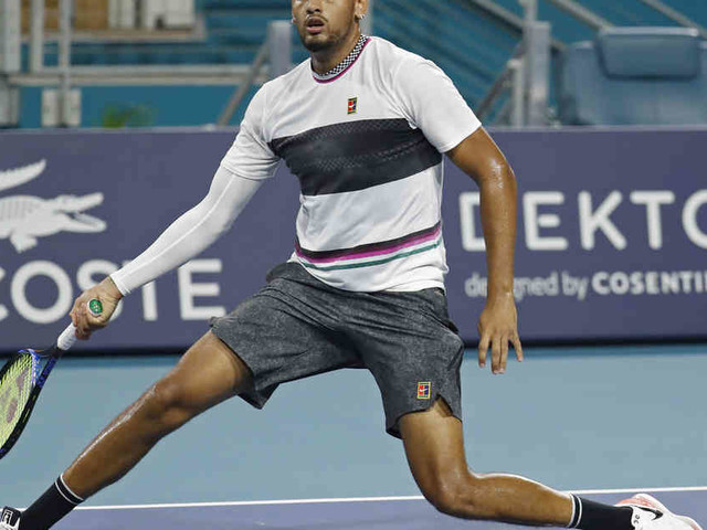 Australischer Tennis-Bad-Boy : Nick Kyrgios legt sich mit Fan an