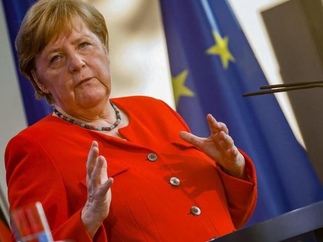 """""""Bin skeptisch"""": Merkel mahnt wegen Delta-Variante zu Vorsicht bei EM"""