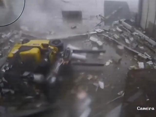 Armageddon im Lagerhaus: Tornado in South Carolina wütet mit 180 km/h