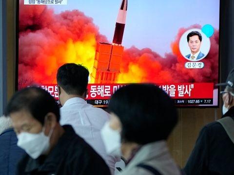 Nordkorea feuert angeblich neue Hyperschallrakete ab