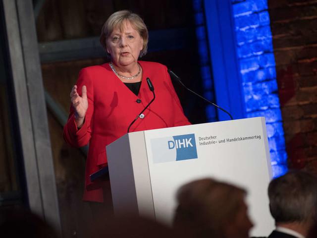 """Merkel plötzlich von Bildfläche verschwunden - """"Sah wirklich dramatisch aus"""""""