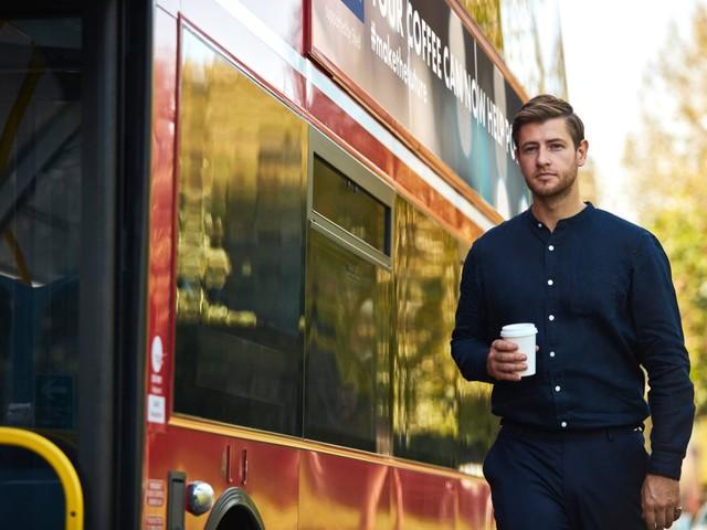 In London sollen Busse bald mit Kaffee fahren