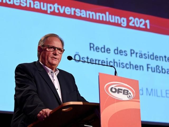 """ÖFB-Boss Milletich: """"Foda ist im November sicher Teamchef"""""""