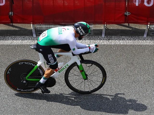 Olympia in Tokio - Algerischer Radfahrer äußert sich zu rassistischer Aussage von deutschem Funtionär