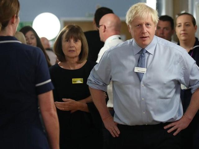 Brexit: Gegenwind für Boris Johnson bei Ortstermin im Krankenhaus