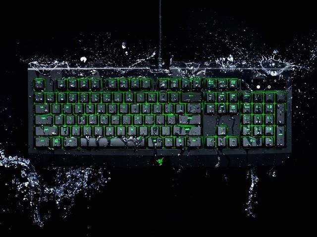 Razer BlackWidow Ultimate: Mechanische Gaming-Tastatur jetzt wasserdicht