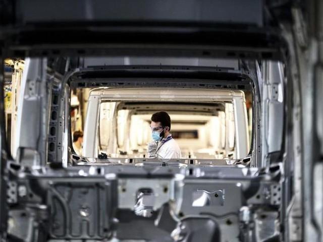 Industriestimmung steigt in Eurozone auf Rekordhoch