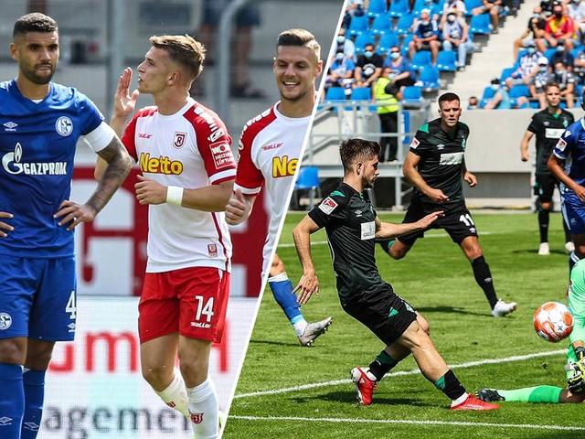 2. Liga kompakt: Schalke 04 verliert in Regensburg – Werder nur Remis in Überzahl