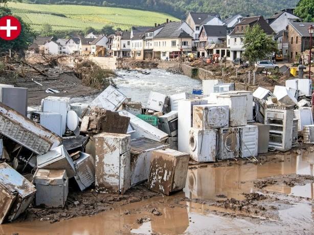 Nach der Flutkatastrophe: Hagen: Ansturm auf Waschmaschinen und Trockner nach der Flut