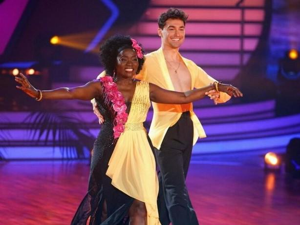 """""""Ich will nicht aufgeben"""": """"Let's Dance"""": Auma Obama tanzt trotz aller Schicksalsschläge weiter"""