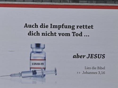Jesus ist mein Impfstoff