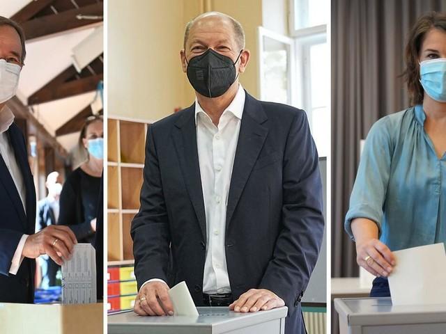 Bundestagswahl 2021: Prognose sieht Union und SPD gleichauf