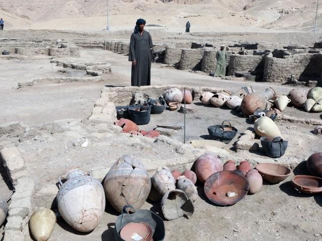 Geheimnisse aus der Stadt von Tutanchamuns Opa