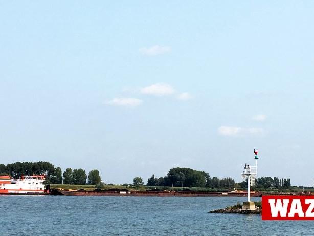 Zwischen Rhein und Maas: Hier geht's Rhein: Wo die Maas in die Waal mündet