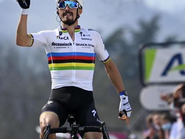 Straßenrad-Weltmeister Alaphilippe verzichtet auf Olympia