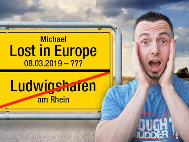 """Spendenziel erreicht! """"Michael Lost In Europe"""" ist wieder in Deutschland"""
