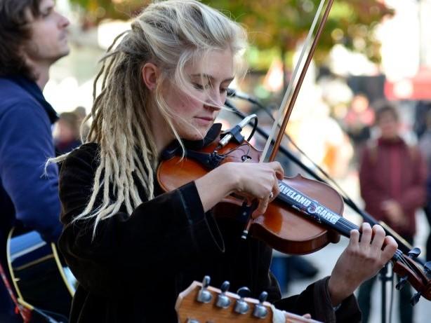 Musikalische Kostproben : Musikalische Kostproben in der City