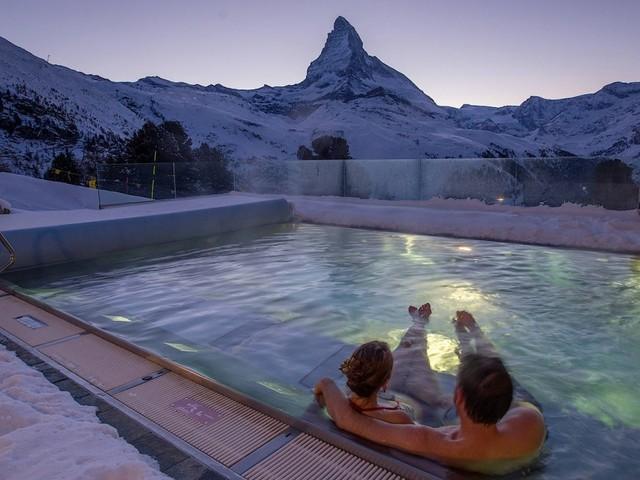 Das Grandhotel Riffelalp oberhalb von Zermatt ist ein Fluchtort auf 2222 Meter