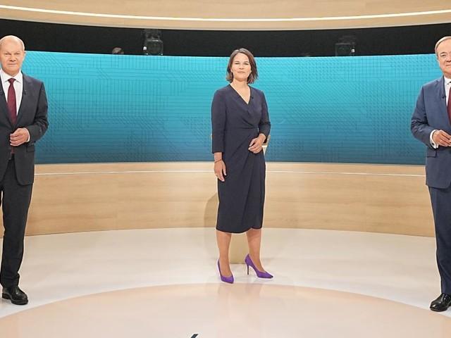 Endspurt vor Bundestagswahl: 3. TV-Triell der Kanzlerkandidaten