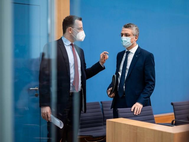 Coronavirus: Jens Spahn widerspricht Lothar in Debatte um Inzidenz als Richtwert