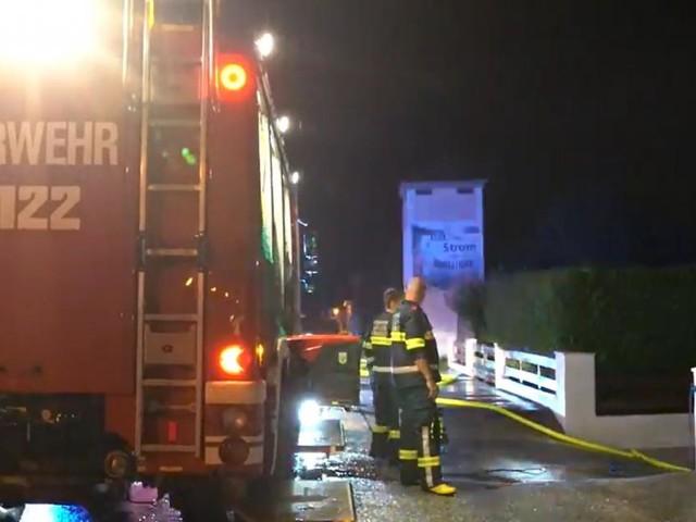 Heftige Unwetter im Westen Österreichs: Mehr als 700 Feuerwehreinsätze