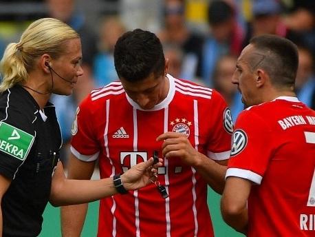 Wie Ribéry Schiedsrichterin Steinhaus einen Streich spielte