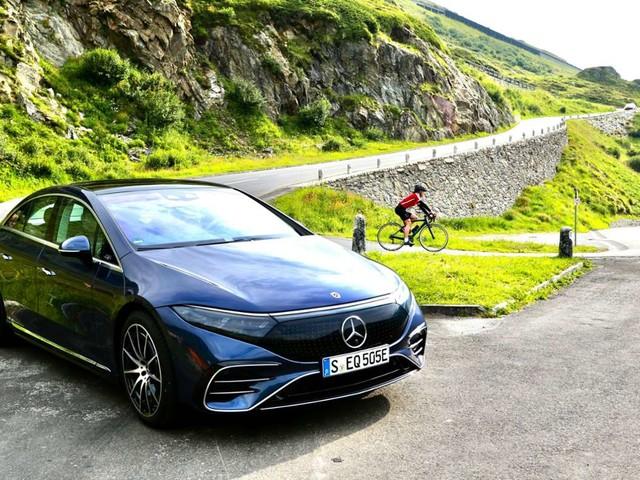 Elektro-Mercedes: Der neue EQS: Luxus auf leiseste Art