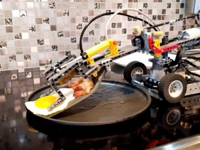 Ins Netz gegangen: Wenn das Lego Frühstück macht