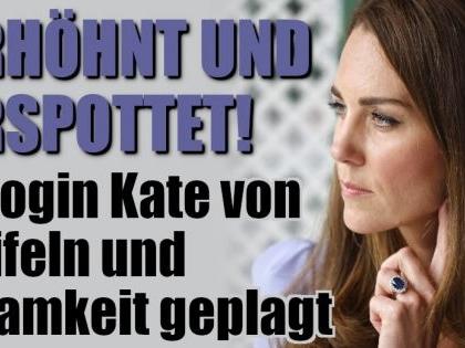 Kate Middleton: Am Boden zerstört! So mies wurde Herzogin Kate gemobbt