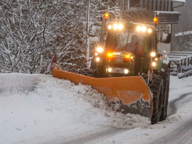 Südwesten: Wetterdienst warnt vor starkem Schneefall und Hochwasser
