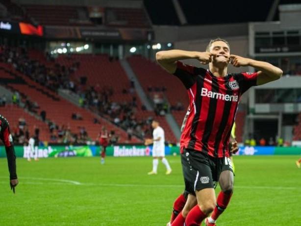 Europa League: Jungstar Wirtz sicher Bayer Leverkusen Auftaktsieg